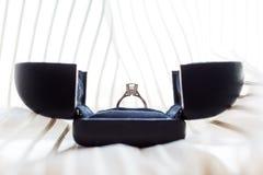 Кольцо с бриллиантом Стоковые Изображения RF