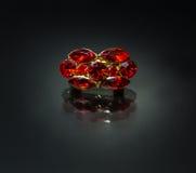 Кольцо с рубином Стоковые Фото