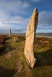 Кольцо Brodgar, оркнейских остров, Шотландии Стоковое фото RF