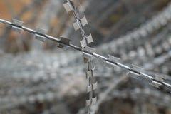 колючий провод загородки Стоковые Изображения RF