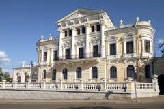 Краеведческий музей в историческом здании в перми. стоковое изображение rf