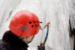 крайность альпиниста Стоковая Фотография