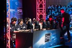 Крайность Intel управляет 2014, Катовице, Польша стоковые фото