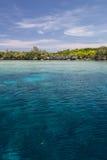 Край барьерного рифа стоковое изображение