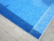 Край бассейна, солнечный стоковые фотографии rf