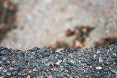 Край дороги скалы стоковые изображения