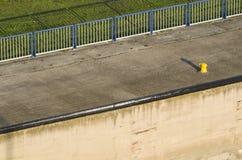 Край затвора у шлюза Стоковое Изображение RF