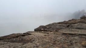 Край и туман моста стоковое изображение rf