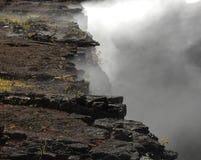 край кратера стоковое изображение