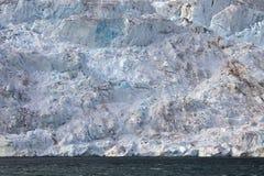 Край ледника в арктике стоковое фото