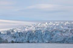 Край ледника в арктике стоковые фото