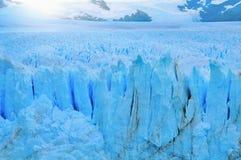 Край ледника Perito Moreno стоковые фотографии rf