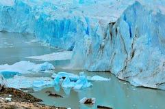 Край ледника Perito Moreno стоковые изображения