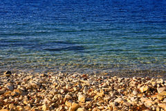 Край пляжа моря и песка стоковое фото rf