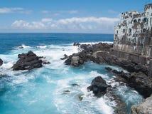край расквартировывает океан романтичный Стоковое Изображение RF