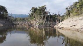 Край резервуара стоковое изображение