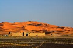край Сахара пустыни стоковая фотография rf