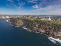 Край скалы в Сиднее Стоковое Изображение RF