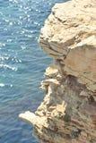 Край скалы Стоковая Фотография RF