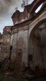 Край старых руин замка стоковые изображения