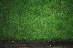 Край травы лужайки стоковая фотография