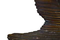 Край увяданной старой древесины стоковое фото
