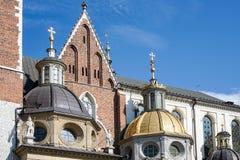 КРАКОВ, POLAND/EUROPE - 19-ОЕ СЕНТЯБРЯ: Собор Wawel в Кракове Стоковое Изображение