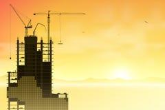 Краны башни Стоковая Фотография