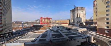 краны конструкции здания Стоковая Фотография RF