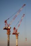 краны конструкции Стоковое Фото
