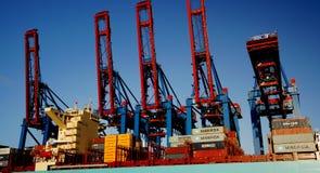 краны контейнера Стоковое Изображение