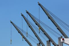 Краны кораблей Стоковые Фото