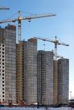 Краны строительной площадки Стоковая Фотография