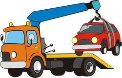 кран автомобиля бесплатная иллюстрация