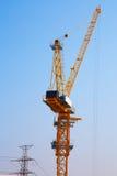 Кран башни в строительной площадке Стоковая Фотография RF