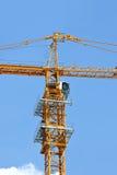 Кран башни конструкции Стоковые Фото