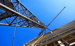 Кран башни Стоковые Изображения RF
