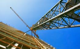 Кран башни Стоковые Фотографии RF