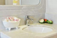 Кран ванной комнаты Стоковое Изображение RF