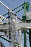 Кран грузового корабля Стоковая Фотография