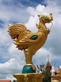 Кран золота Таиланда религиозный Стоковые Фото