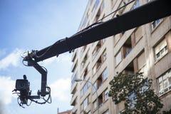 Кран камеры на улице Стоковая Фотография