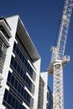 кран конструкции здания Стоковая Фотография