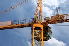кран конструкции промышленный Стоковое Изображение RF