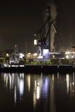 кран промышленный Стоковая Фотография RF