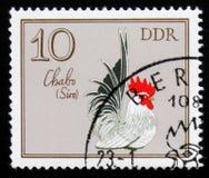 Кран Chabo петуха от кранов серии немецких, около 1979 Стоковая Фотография
