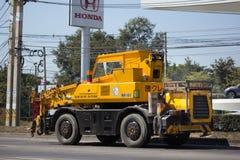 Кран MR-100 KATO строительной фирмы ST Стоковые Изображения