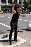 кран nyc танцора broadway Стоковое Изображение