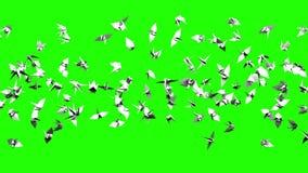 Кран Origami на зеленом ключе Chroma бесплатная иллюстрация