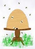 Крапивница пчелы Стоковые Фотографии RF